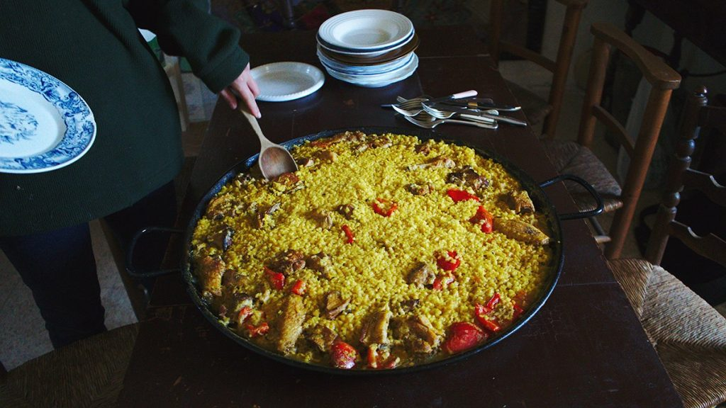 Paella altiplano camp